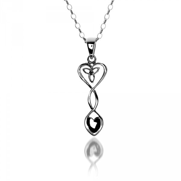 Celtic Heart & Love Spoon Pendant