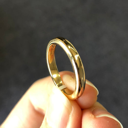 Thick Gold Band (Estate)