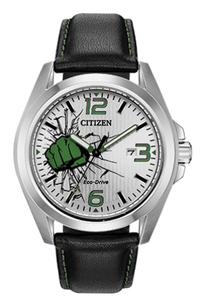 The Hulk Citizen Eco Drive Watch