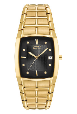 Gold-Tone Citizen Eco-Drive Watch