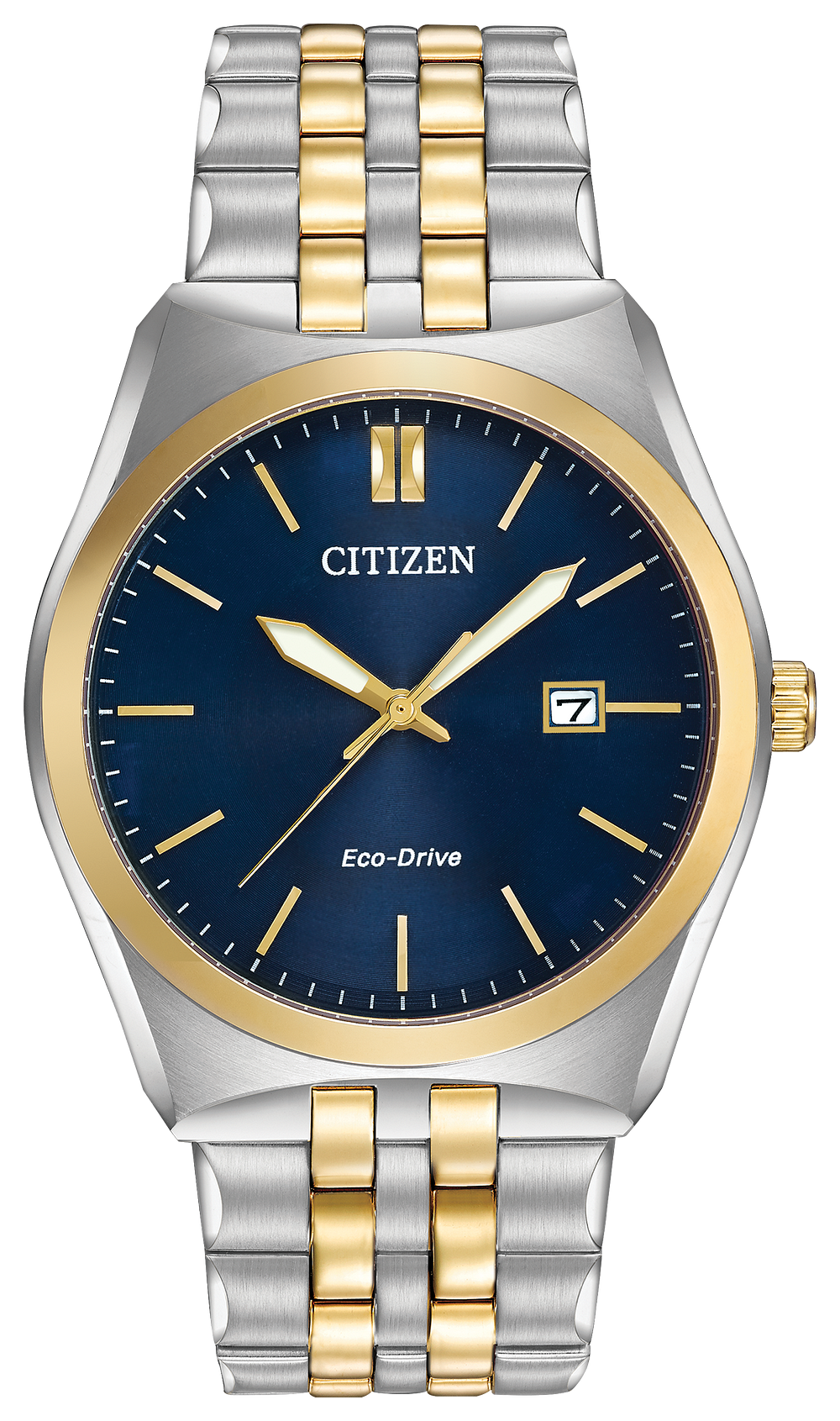 Citizen Ecodrive 2 Tone; Blue Face with Date