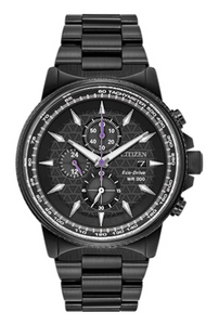 Black Panther Chrono Eco Drive Watch
