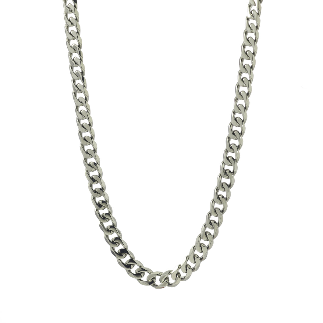 ~1.4mm Width  Sterling Silver  Curb Chain