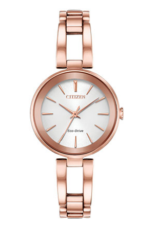 Citizen EcoDrive Rose Gold-Tone Watch