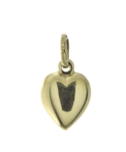 Heart Pendant 10K Yellow Gold