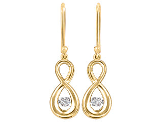 Infinity Motion Canadian Diamond Earrings