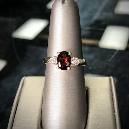 Royal Garnet Ring