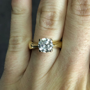 1.15ct Diamond Engagement Ring (Estate)