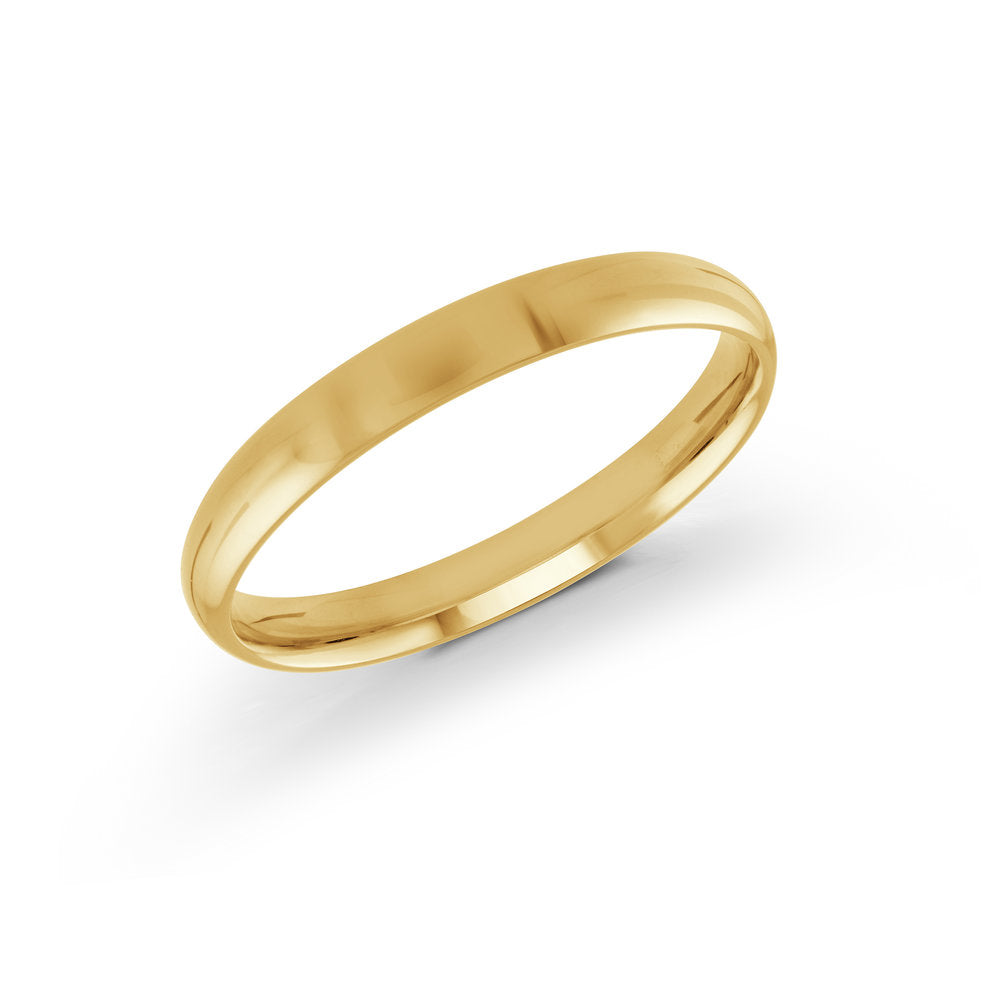 3mm 10K Yellow Gold Band