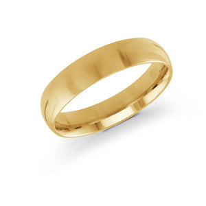 5mm 10K Yellow Gold Band