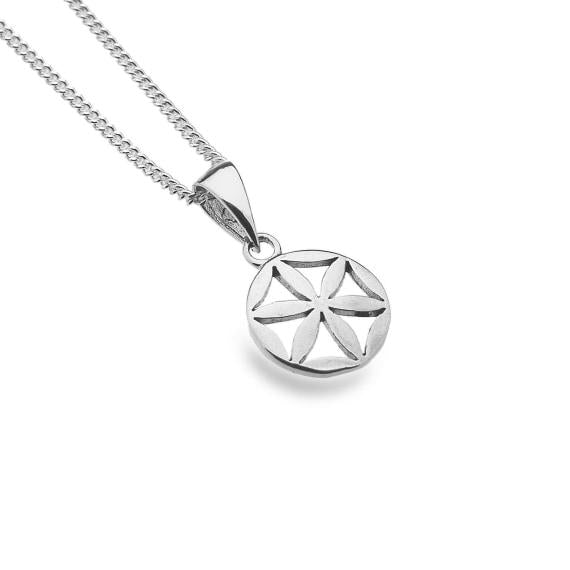 Silver Flower of Life Pendant