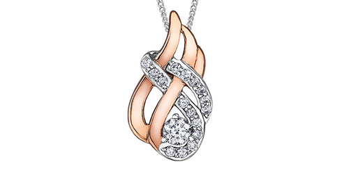 Canadian Diamond Fire Pendant