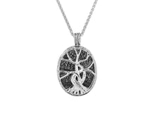 Load image into Gallery viewer, Guilded 4 Way Tree of Life Pendant
