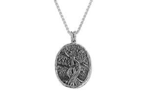 Guilded 4 Way Tree of Life Pendant
