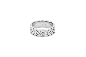 "Celtic Love Knot ""Belston"" Ring"