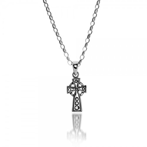 Sterling Silver Small Celtic Cross Pendant