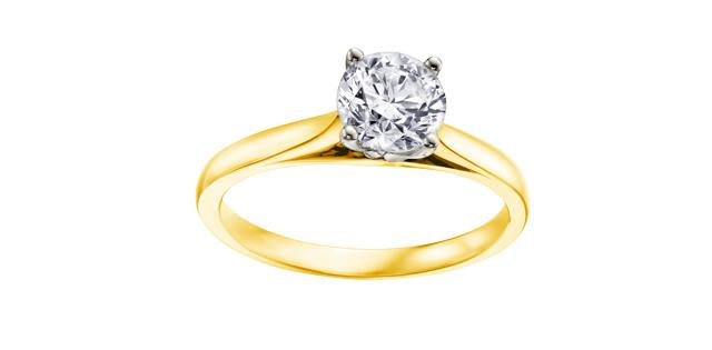 0.52ct Canadian Diamond Engagment Ring