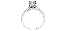 Load image into Gallery viewer, 0.31ct Solitaire Canadian Diamond Ring