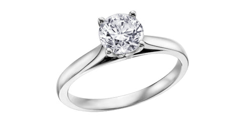 0.31ct Solitaire Canadian Diamond Ring