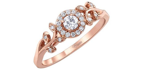 Floral Canadian Diamond Ring