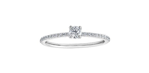 Canadian Diamond Enagement Ring