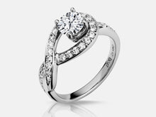 Load image into Gallery viewer, Tabatha Engagment Ring