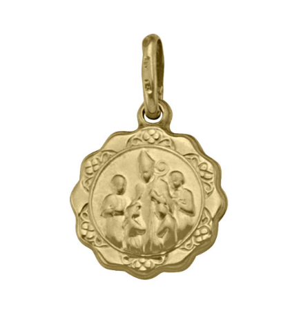 Gold Confirmation Pendant