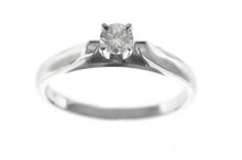 Load image into Gallery viewer, 0.20ct Solitaire Ring