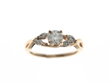 Load image into Gallery viewer, Rose Engagment Ring