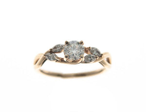 Rose Engagment Ring