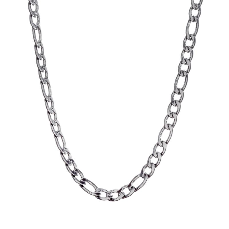Sterling Silver Figaro Chain ~3mm