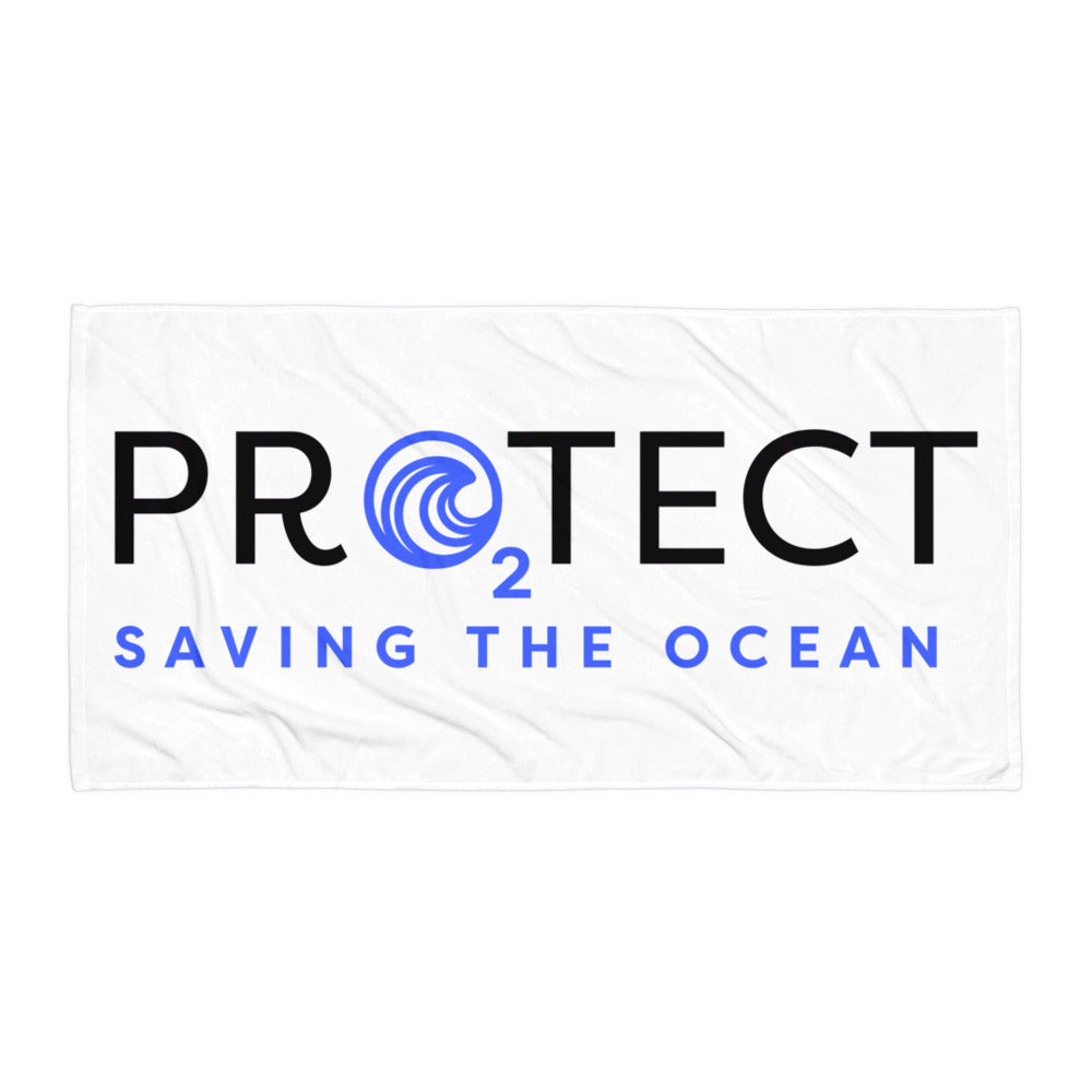 Saving The Ocean Towel