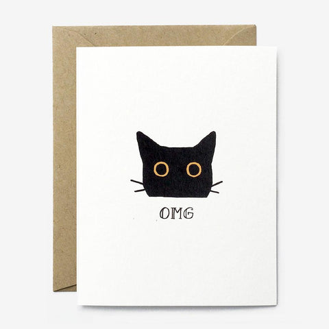 Paper Pony Co. - OMG Cat Card