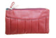Women's Double Zipper clutch purse in Assorted colors  # 11 CBC 20-[Marshal wallet]- leather wallets