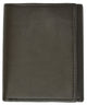 Men's Wallets genuine leather trifold wallet 1307-[Marshal wallet]- leather wallets