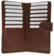 Credit Card Holders 1507CF-[Marshal wallet]- leather wallets