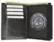 2515 TABK Badge Wallet-[Marshal wallet]- leather wallets