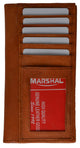 Check Book Covers 3507 CF-[Marshal wallet]- leather wallets