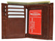 European Wallet 618 CF-[Marshal wallet]- leather wallets