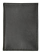 80 Bifold Credit Card Holder with Snap Button Closure-[Marshal wallet]- leather wallets