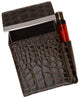 Cigarette Case holder with lighter pocket 92812-[Marshal wallet]- leather wallets