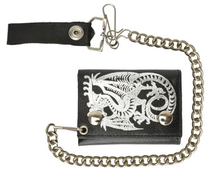 Chain Wallet 946 19-[Marshal wallet]- leather wallets