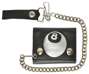 Chain Wallet 946 39-[Marshal wallet]- leather wallets