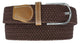 Braided Elastic Stretch Belts S111-[Marshal wallet]- leather wallets