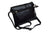Ladies Black Genuine Leather Small Crossbody & Shoulder Bag with 4 Zipper Pockets Womens 804BK