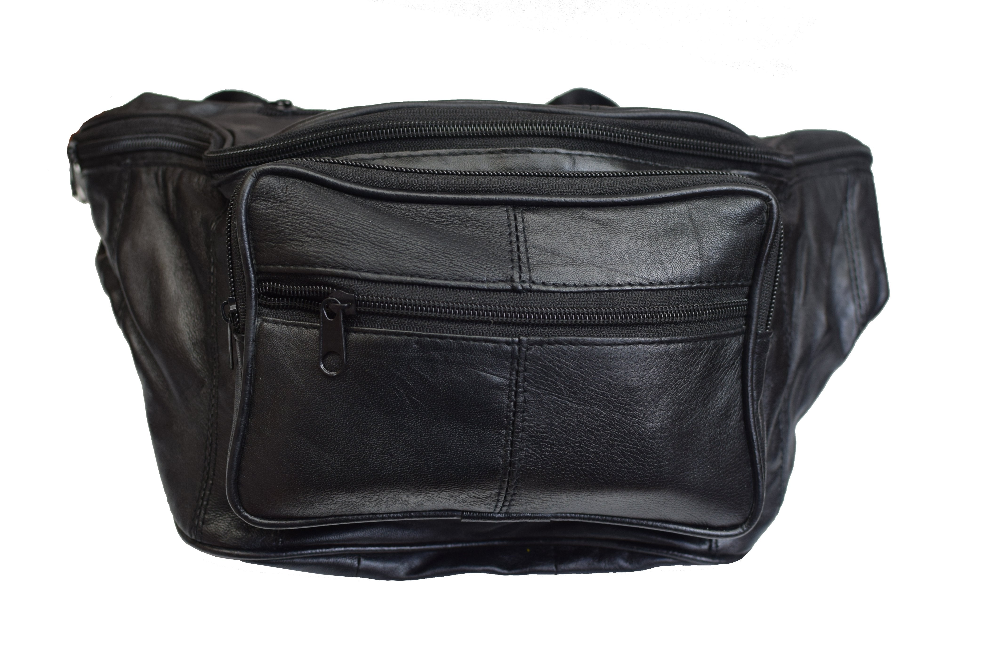 5e82fc10a3c ... Leather Concealed Carry Weapon Waist Pouch Fanny Pack Gun Conceal Purse  for Both Men & Women 632. Previous