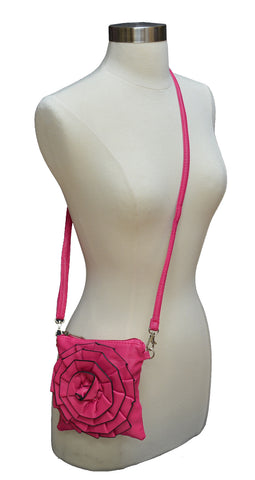 Flower Design Cross body Handbag 122 959