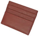 Premium Soft Genuine Leather Simple Credit Card Holder P 170 CF-[Marshal wallet]- leather wallets