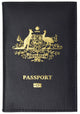 Australia Passport Cover Genuine Leather Passport Wallet for Travel 151 Australia-[Marshal wallet]- leather wallets