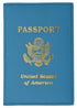 351 PU USA Print Passport Case Holder Cover with credit card slots